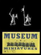 Museum Miniatures 15mm Crusades NI 90 Foot Command (x 6 figs)